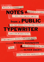 Giveaway - Notes From a Public Typewriter