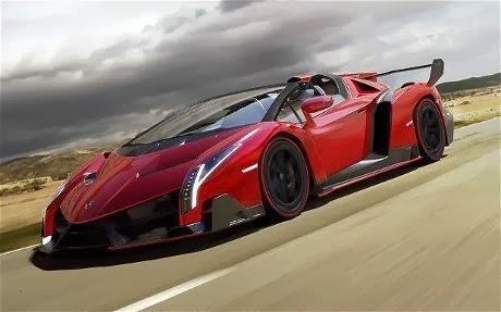 Foto Lamborghini Veneno Roadster Mobil Mewah Tercepat di Dunia Termahal
