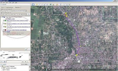 Lokasi , peta google earth sumbawa residence