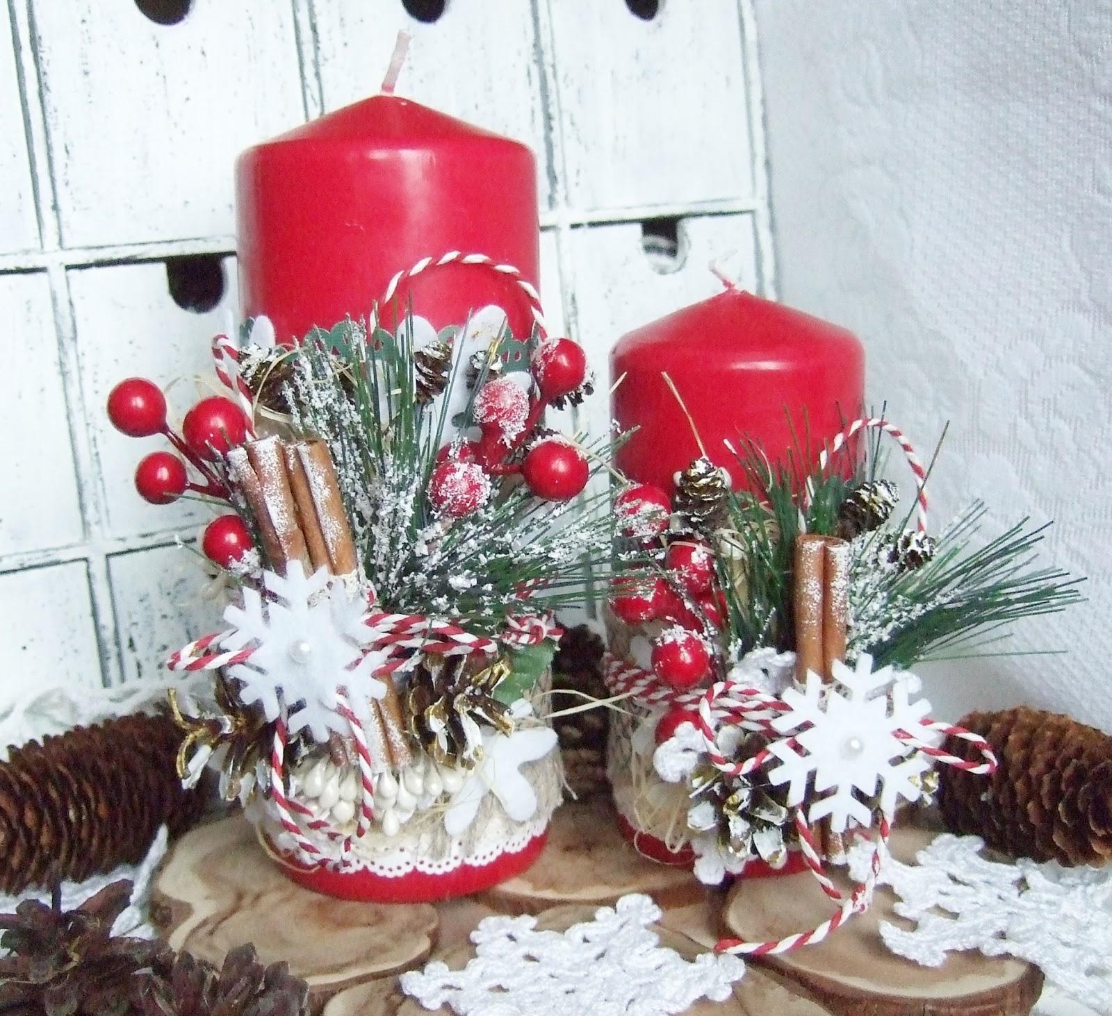 Как украсить свечу в подарок