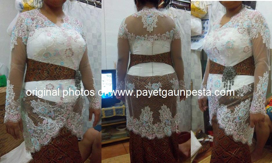 Model Baju Brokat Untuk Orang Gemuk
