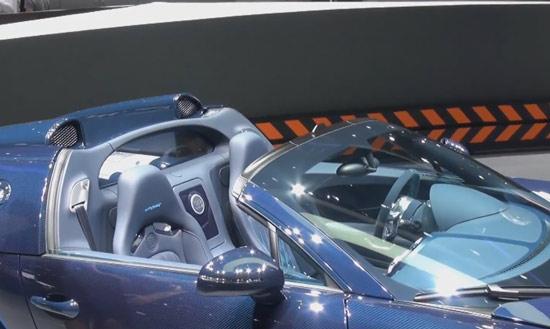 Bugatti Veyron Vitesse Salão Genebra 2012