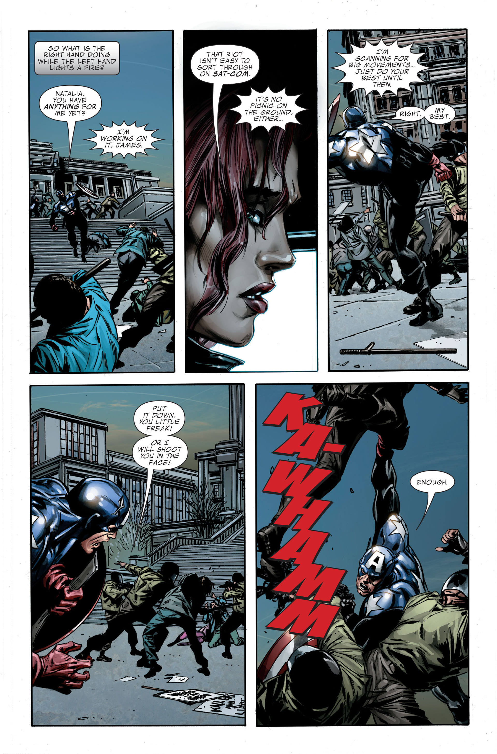 Captain America (2005) Issue #35 #35 - English 17