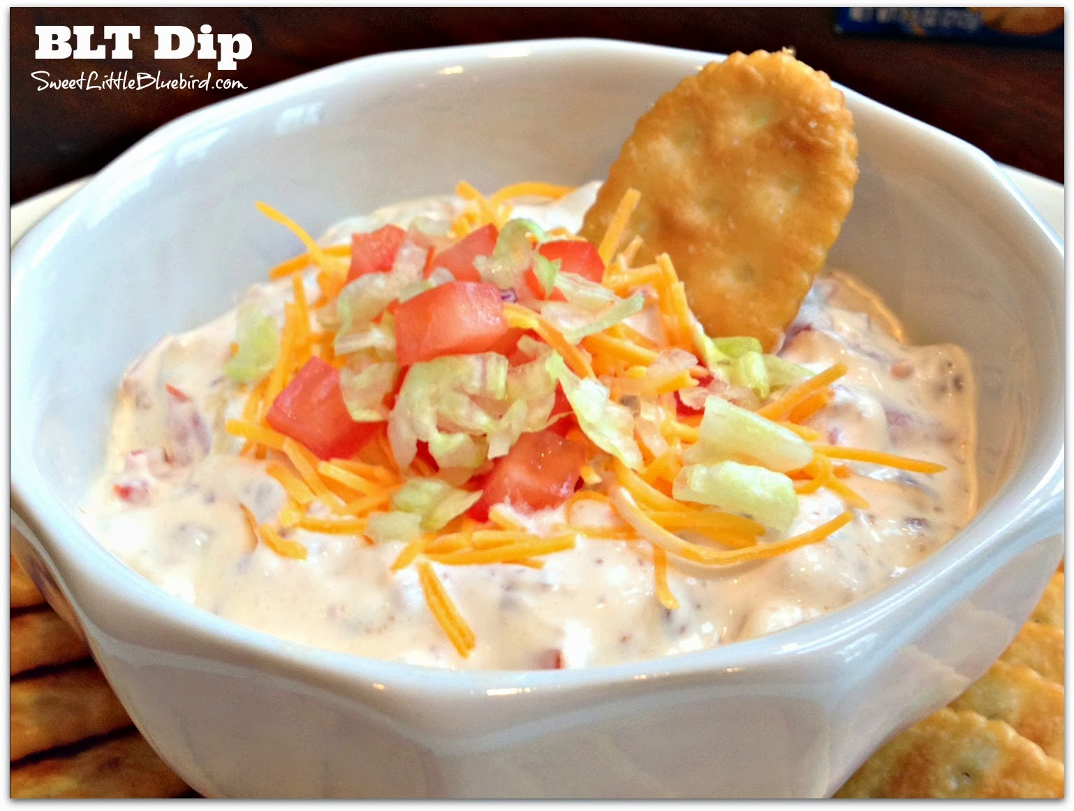 BLT Dip - Only 4 Ingredients!