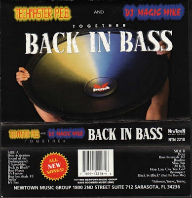 Techmaster P.E.B. & DJ Magic Mike – Back In Bass (1996) (320 kbps)