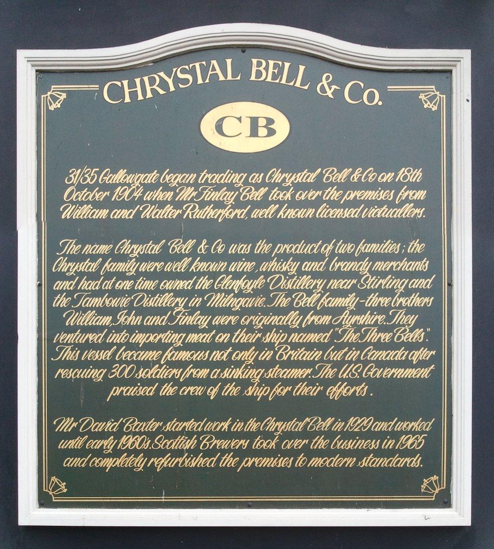 Chrystal Bell, Glasgow