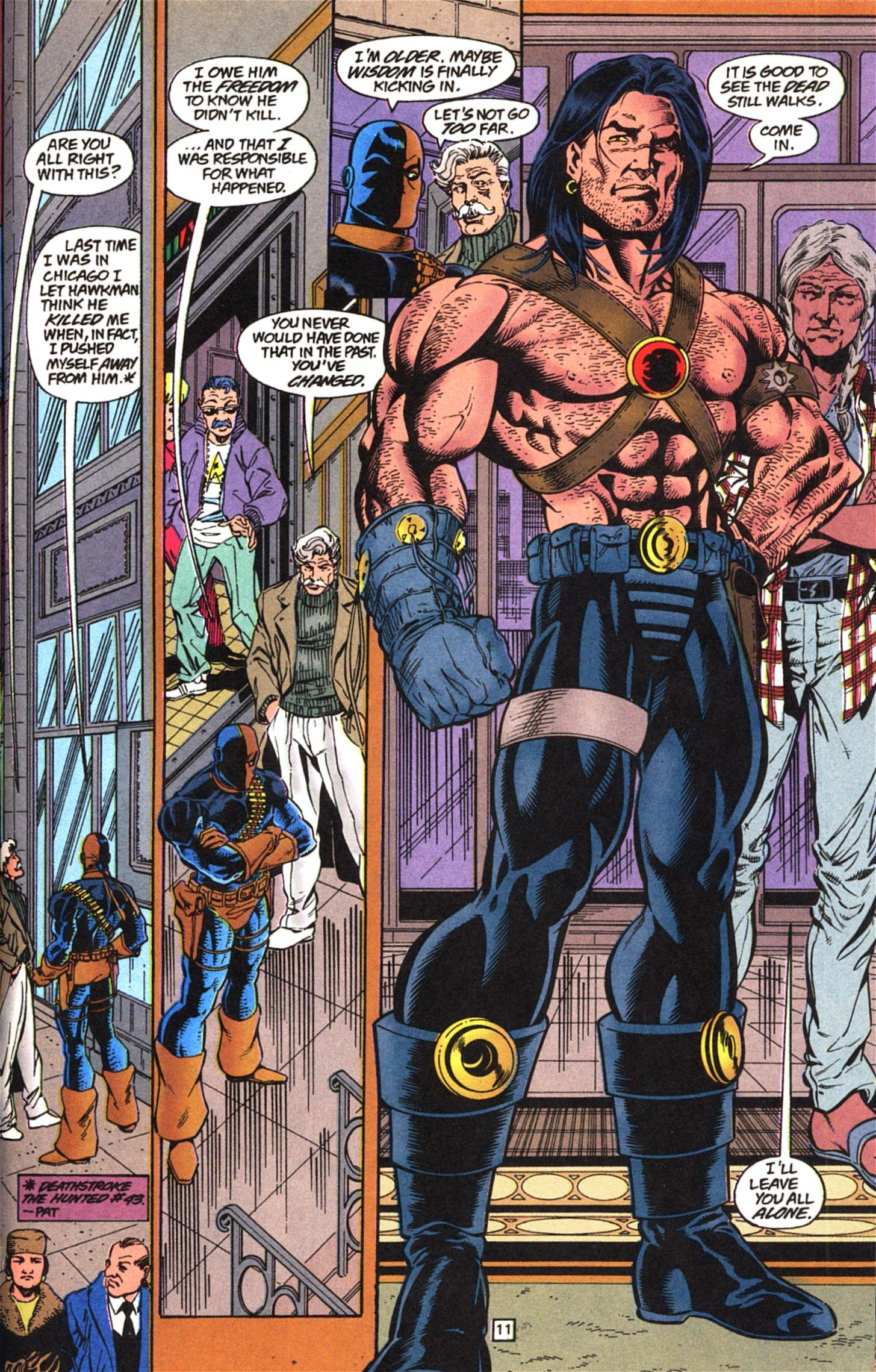 Deathstroke (1991) Issue #52 #57 - English 12