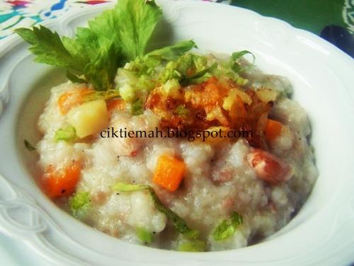 Resepi masakan Bubur Lambuk yang mudah dan sedap