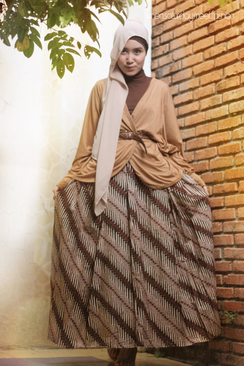 Saturday Style Inspiration Batik And Hijab 1
