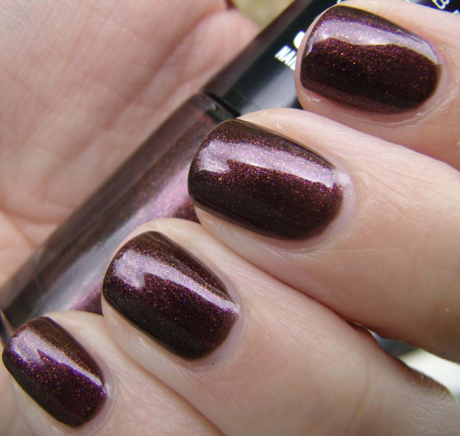 Wine Colored Nail Polish: Obsessive Cosmetic Hoarders Unite!: New Maybelline Color