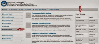 Alamat Baru Situs Pengecekan Data Dapodikdas 2013