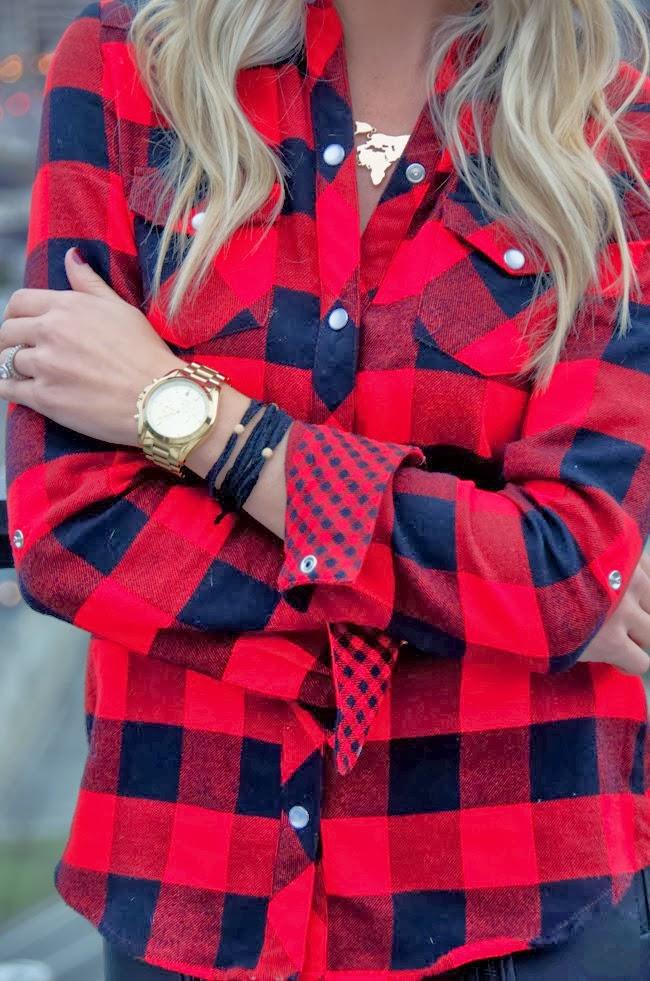Comfy Plaid red Shirt