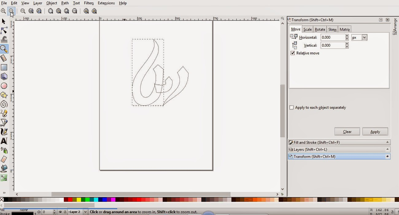 Tutorial to Create a Logo Design with Inkscape Software