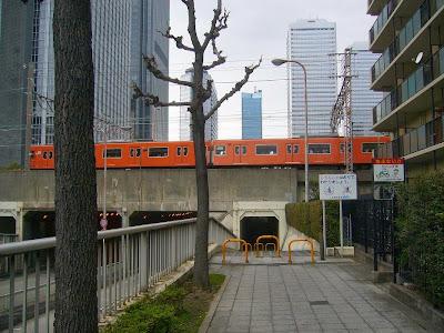 OBP(大阪ビジネスパーク)ウォーキング JR大阪環状線