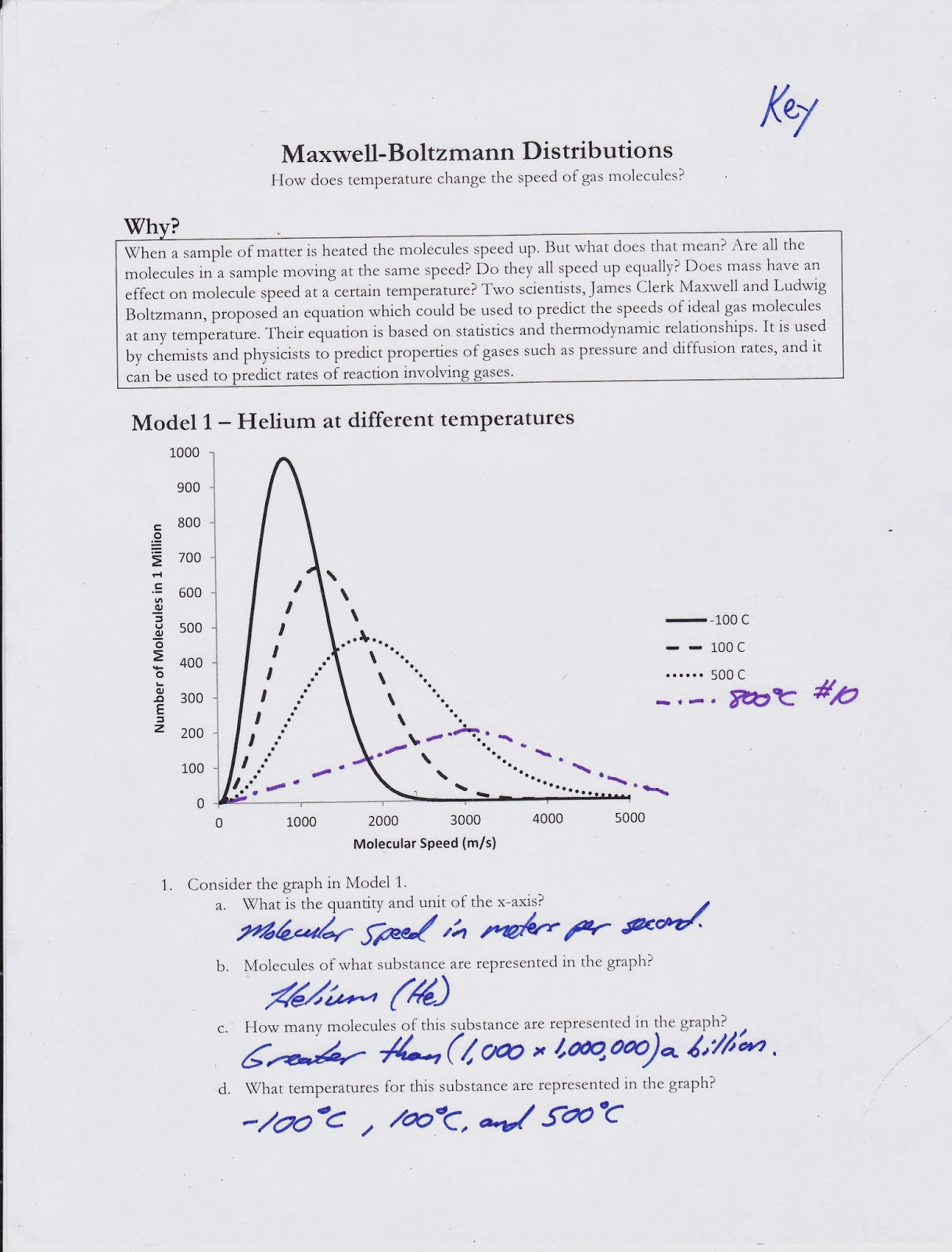 AP Chemistry Class 2013 / 2014: Gas Laws Test (Chapter 10) Review