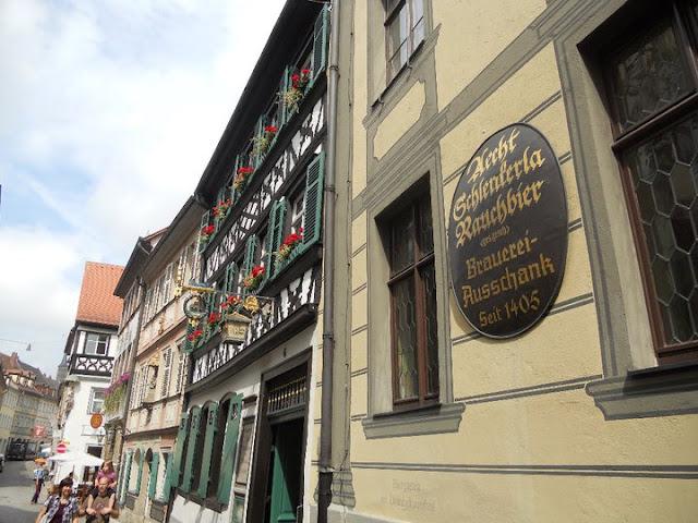 half-timbered archetecture Bamberg