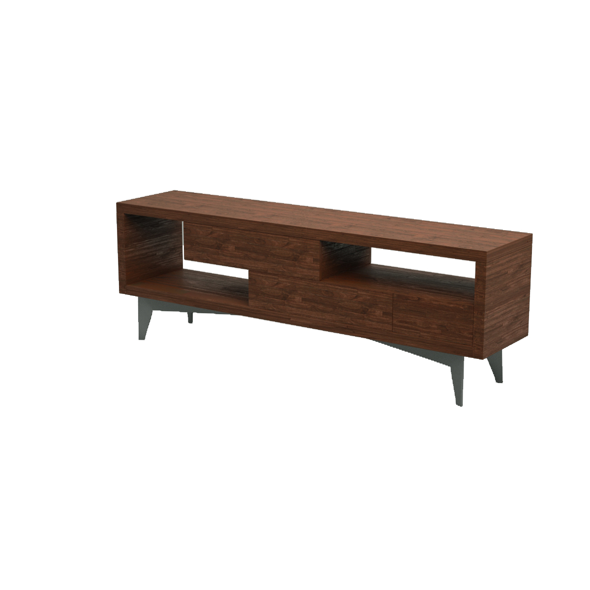 Visual blender tango buffet sideboard 3d model download for Sideboard 3d