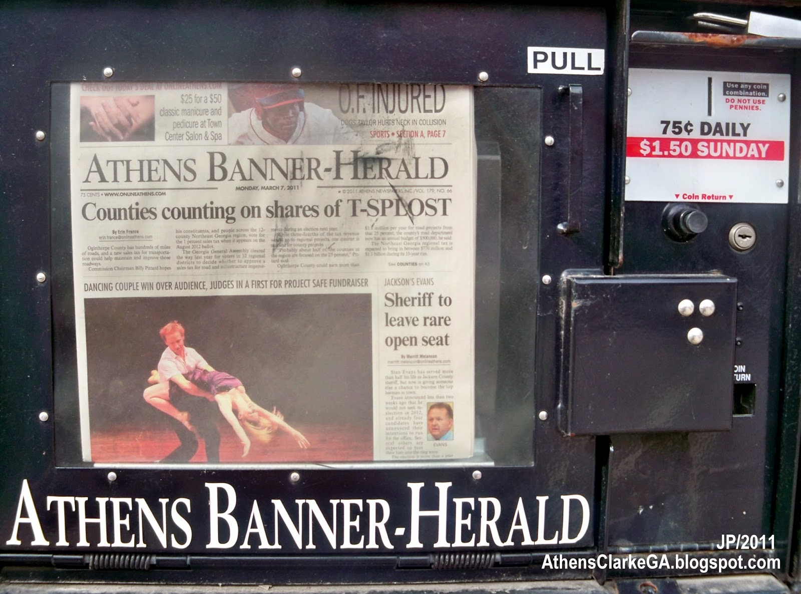 Athens Banner Herald Obituary ATHENS BANNER HERALD NEWSPAPER Athens WVwEoT4l