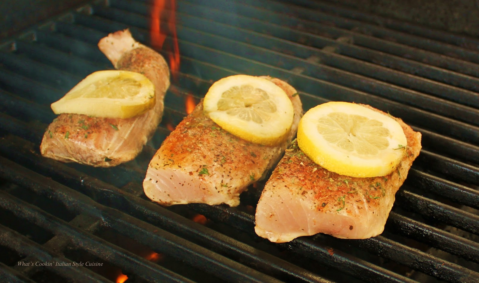 Grilling roundup of recipes 2012 what 39 s cookin 39 italian for Wahoo fish recipes