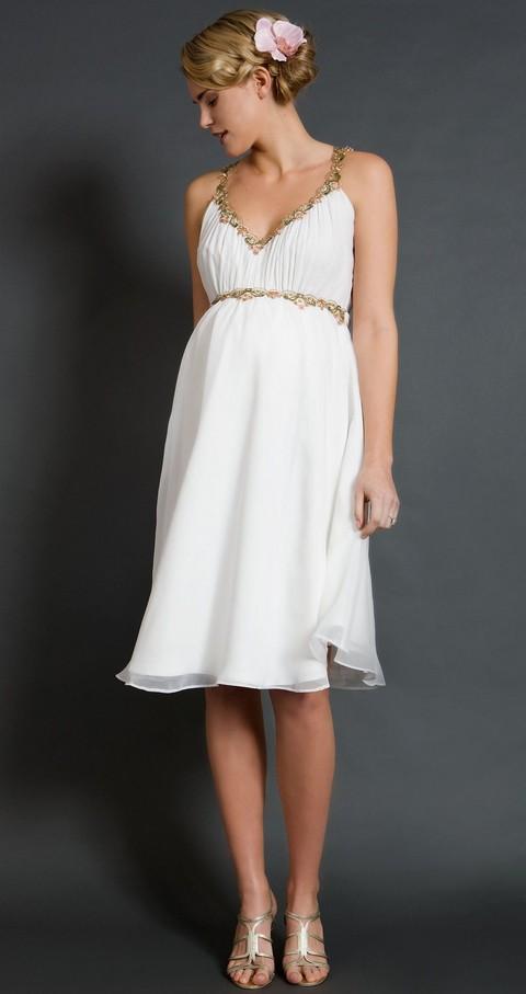Весільні сукні для вагітних