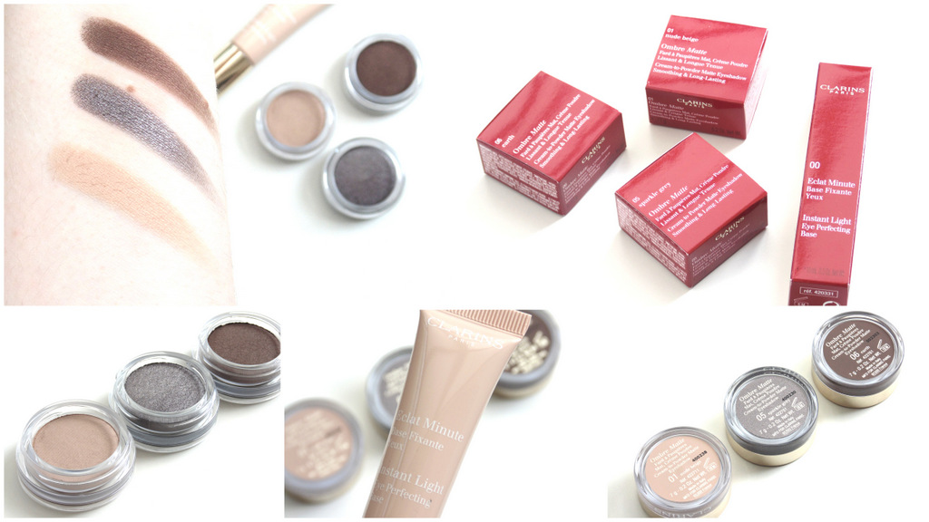 Review: Clarins Ombre Matte Shadows + Base