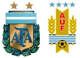 Copa América 2011, Cuartos de Final: Argentina-Uruguay