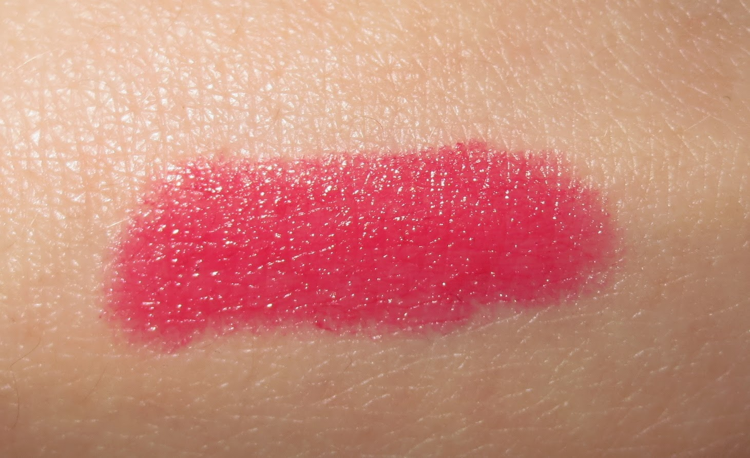 Clinique Chubby Stick Intense Moisturizing Lip Colour Balm - Plushest Punch swatch