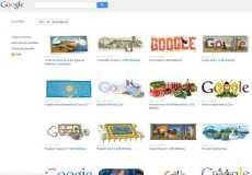 Todos los doodles de Google en un sólo sitio Doodle Site