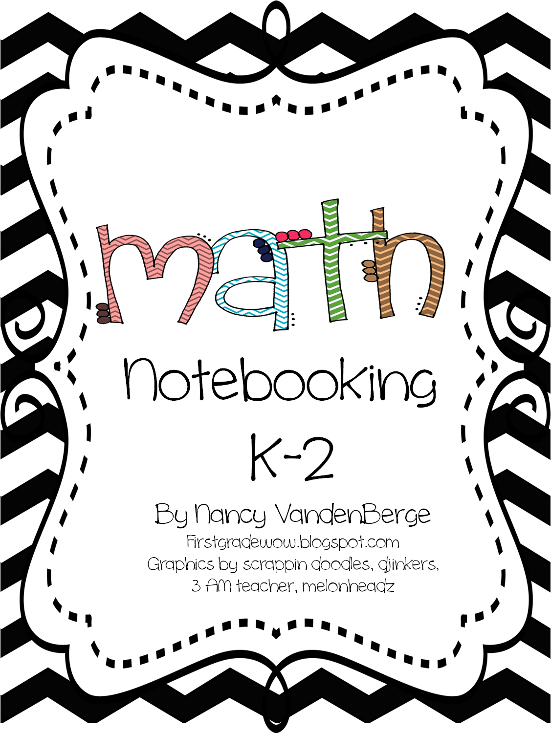 first grade wow  math notebooking