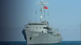 Νέα πρόκληση: Τουρκικό Τσεσμέ μία ανάσα από τον Άη Στράτη