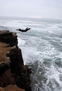 Friar diving