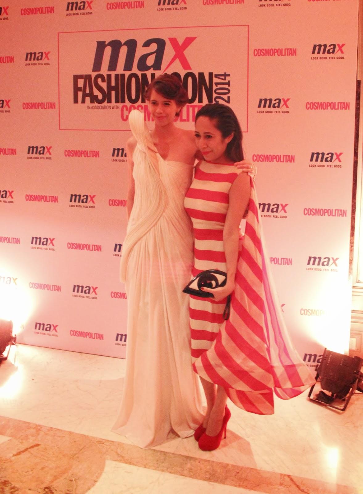 Kalki Koechlin and Nandini Bhalla - MAX Fashion Icon 2014 In Collaboration  With Cosmopolitan Magazine Grand Finale - All Pictures, Uncut Version