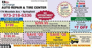 Best Oil Change New Jersey
