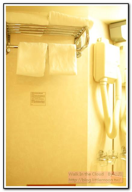 浴巾與吹風機