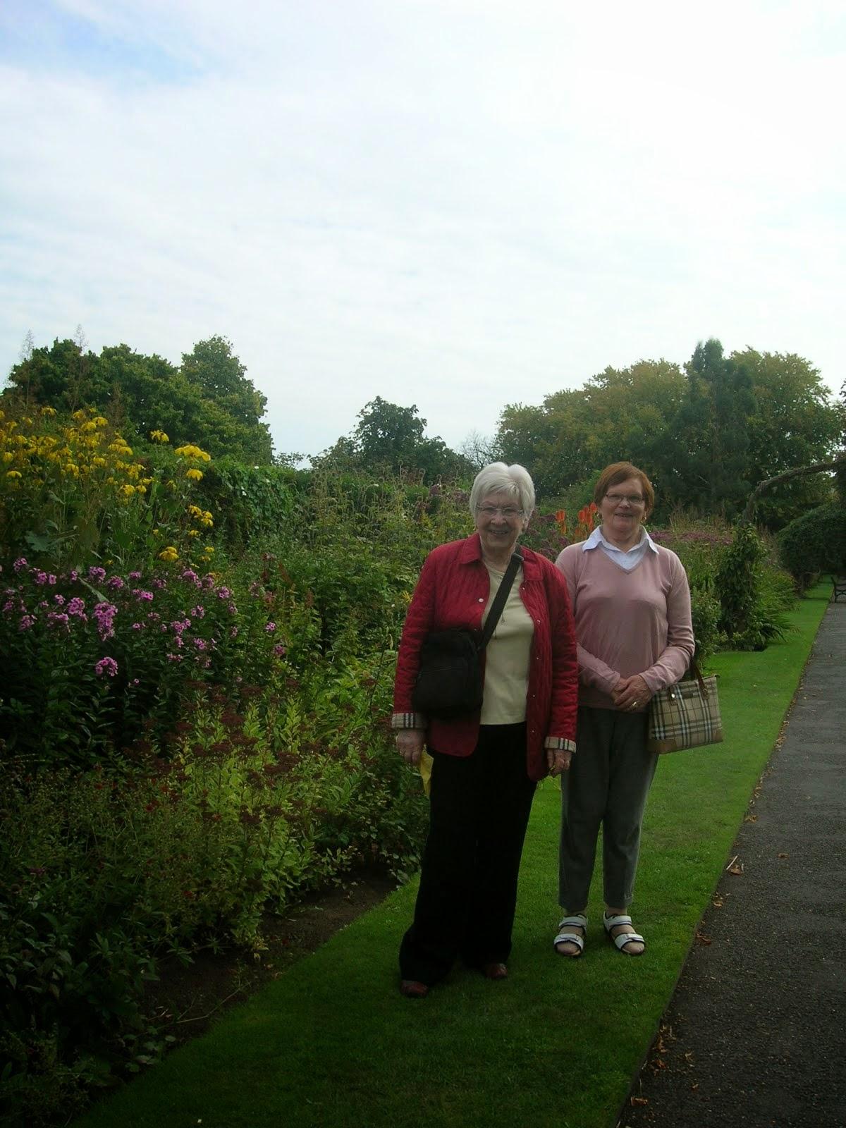 Maureen Quinn & Phyllis Naughton