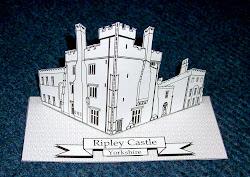 Ripley Castle 2D Scene