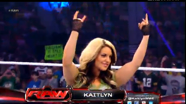 ProWresBlog  WWE Monday Night Raw 8 5 2013 Results and ReviewWwe Kaitlyn Hair 2013