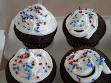 Memorial Day Cupcakes 2010