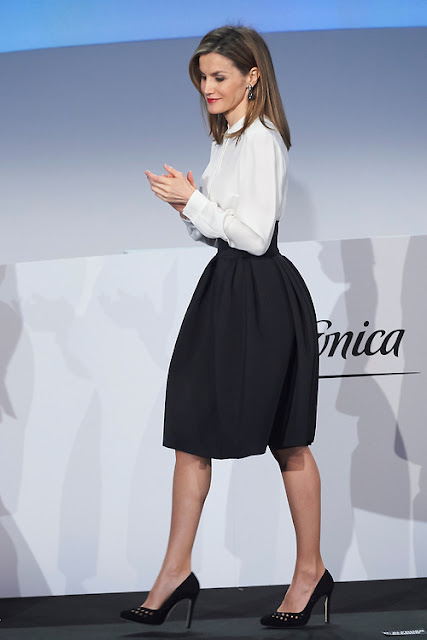 Queen Letizia of Spain attends 'Telefonica Ability Awards