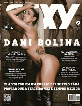 CAPA Download   Revista Sexy: Dani Bolina – Abril de 2014 – Completa Digital