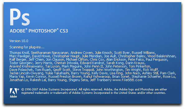 How to install photoshop cs3.