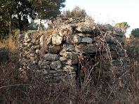 Barraca de vinya a prop de Torrecabota