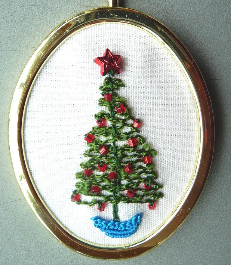 Rosaliewakefield Millefiori The Little Christmas Tree