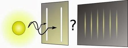 Observamos el patrón de interferencia emitido por la luz