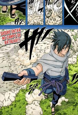 Naruto Mangá 567 - O junchuuriki de konoha