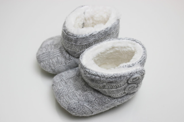 A picture of Asda Knitted Baby Booties