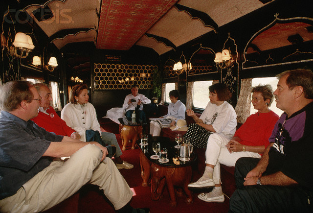 Palace on wheels Lounge Bar