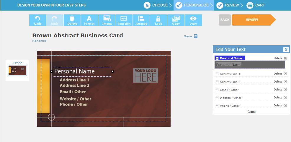 تعلم كيف تصمم بطاقة أعمال (Business Card) خاصة بك بكل سهولة وبدون أي عناء