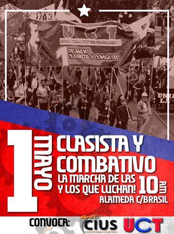 SANTIAGO: MARCHA 1° DE MAYO CLASISTA Y COMBATIVO