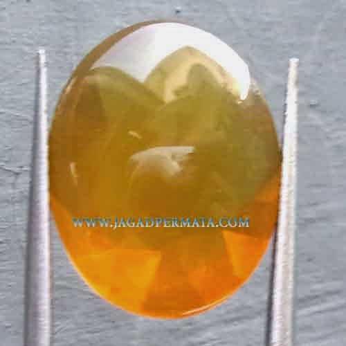 Batu Permata Natural Fire Opal